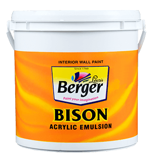 Berger Bison Super Emulsion - Best Paint for Home Interior