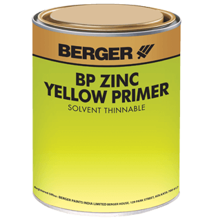Berger BP Zinc Yellow Primer - Best Primer for Mild Steel Surfaces