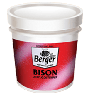 Berger Bison Distemper - Best Interior House Paint