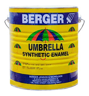 Berger Umbrella Synthetic Enamel - Best for Mild Steel Surface