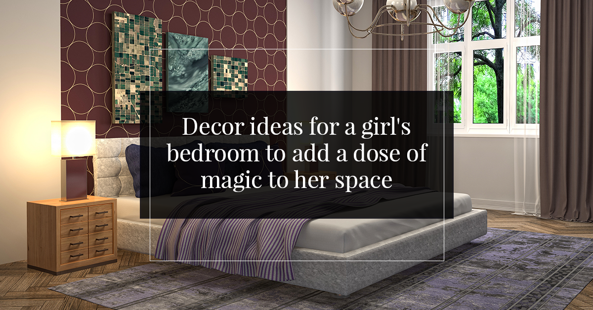 Decor ideas for a girl's bedroom to add a dose of magic to her space
