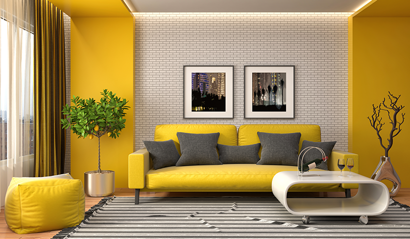 Modern colour schemes for your living room – Blog Berger Nepal