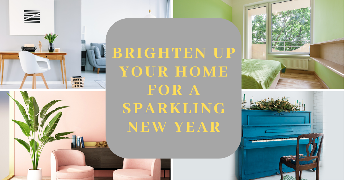 Brighten up your home for a sparkling New Year