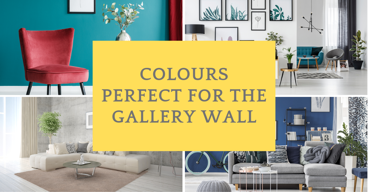 Colours perfect for the gallery wall