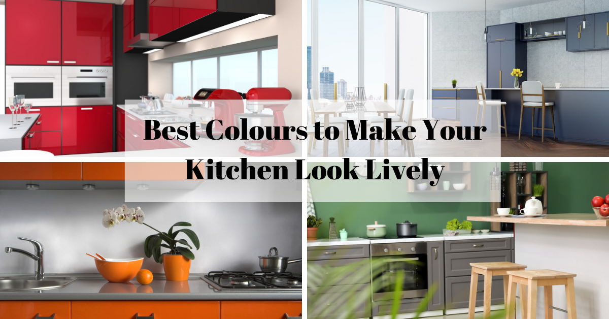 Best Colors to Make Your Kitchen Look Lively