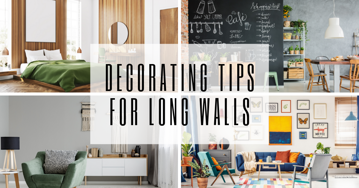Decorating Tips for Long Walls
