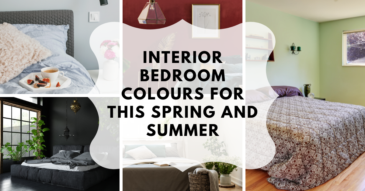 Interior Bedroom Colors for This Spring and Summer
