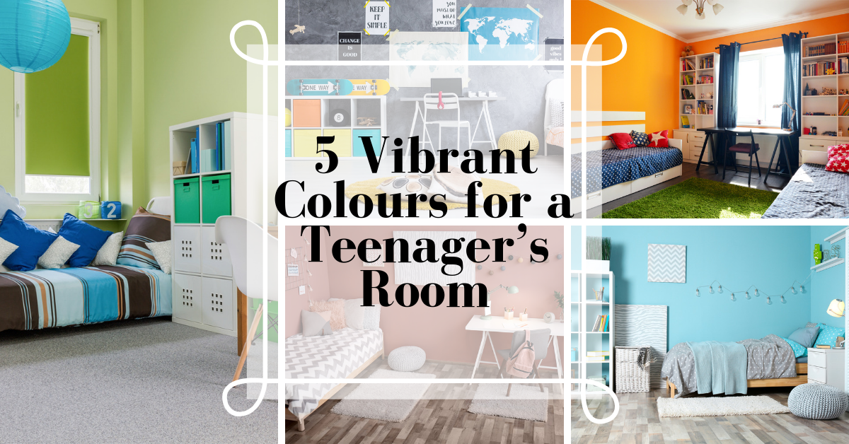 5 Vibrant Colours for a Teenager's Room