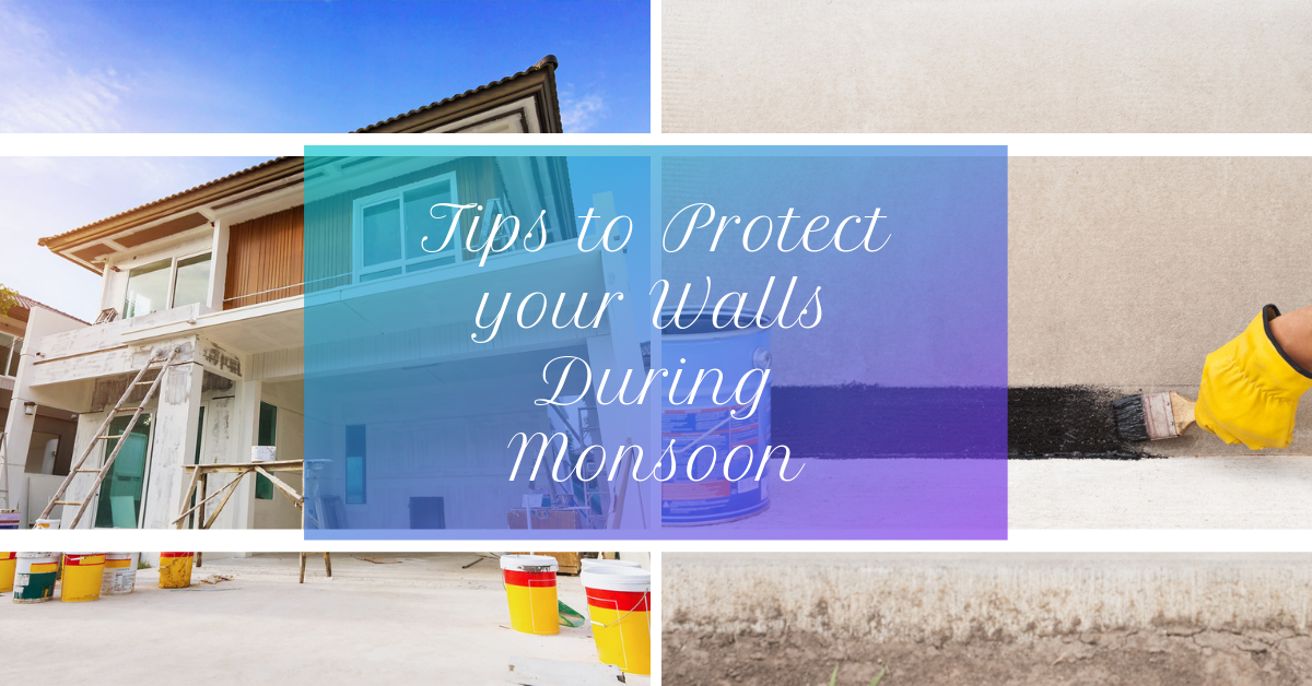 Tips to Protect your Walls During Monsoon