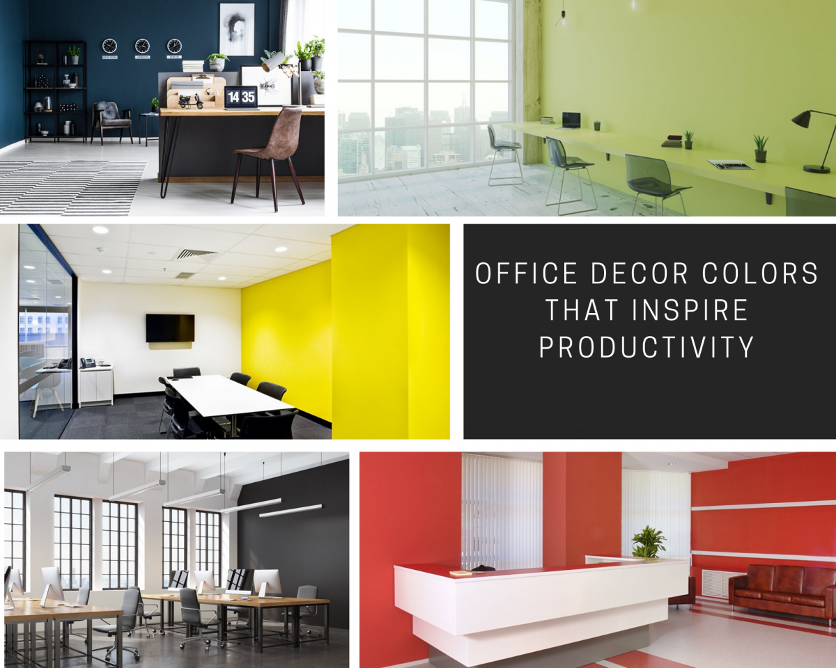 Office Decor Colors That Inspire Productivity
