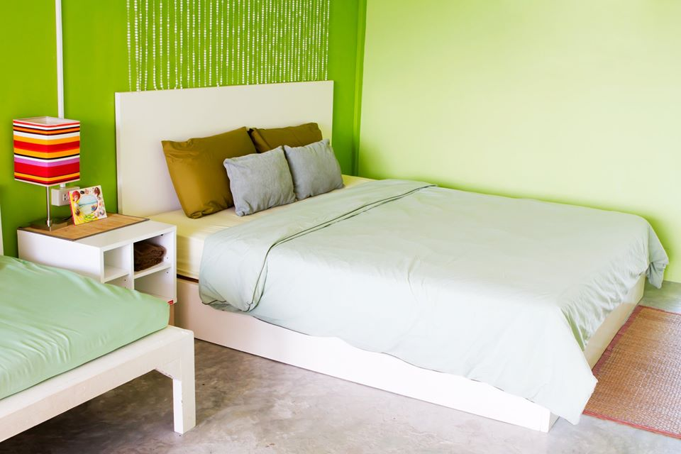 Green Interior Paint For Bedroom