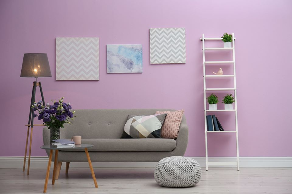 Lavender Interior Paints - Berger Paints Nepal
