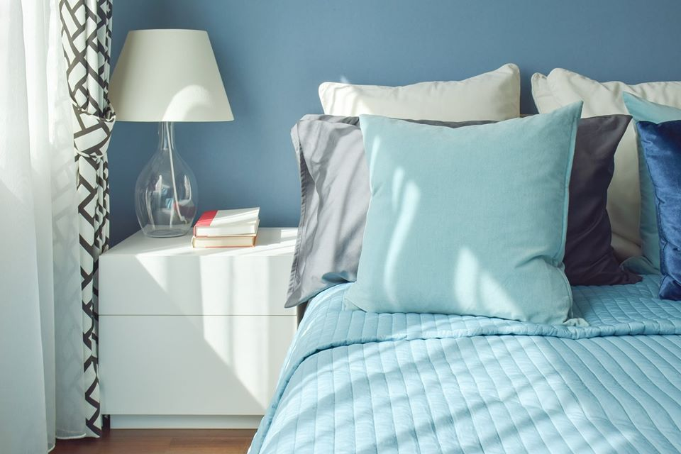Light Blue Interior Paint For Bedroom