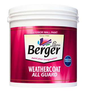 WeatherCoat All Guard for Exterior Wall Paint