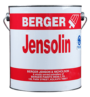 Berger Jensolin Superior Red Oxide Primer - Best for Mild Steel Surface