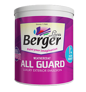 Berger WeatherCoat All Guard - Best Paint for Walls