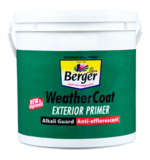 Weather Coat Exterior Primer for Exterior Walls
