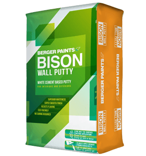Bison Wall Putty for Interior & Exterior walls