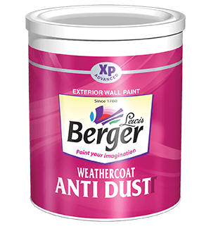 Berger WeatherCoat Anti Dust - Best Exterior House Paint
