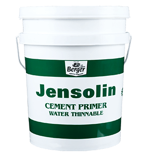Berger Jensolin Cement Primer - Best For Masonry & Asbestos Surfaces