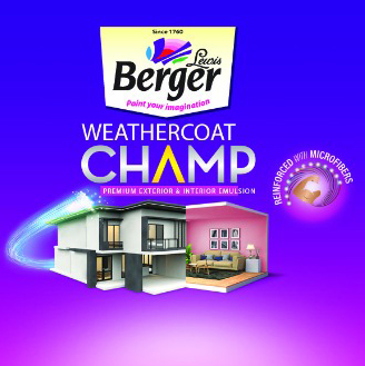 Weathercoat Champ Interior and Exterior Emulsion